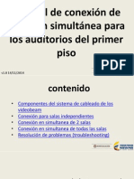 Manual Conexion Simultanea Piso 1
