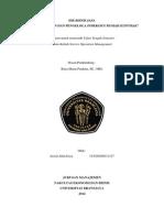 Jasa Pemasaran dan Pengelola Indekost/Rumah Kontrak