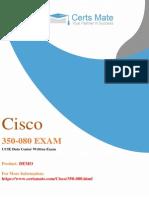 Up to Date 350-080 PDF Exam Demo
