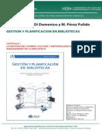 Gestion y Planificacion en Bibliotecas Solimine Di Domenico y Perez Pulido Capitulo 1