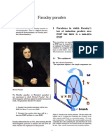Faraday Paradox