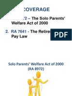 Solo & Retirement Ppt Presentation