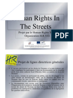 Human Rights in the Streets - French