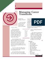 Assess Managing Career Transitions