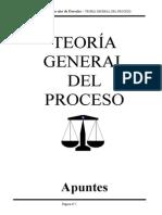 Apunte final deTeoríaGeneral del Proceso