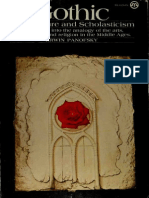 Gothic Architecture and Scholasticism by Erwin Panofsky (Art eBook)