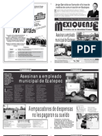 Diario El mexiquense 20 Noviembre 2014
