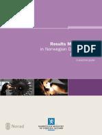 Results Management in Norwegian Development Cooperation