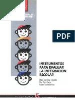 instrumentos para evaluar la integración escolar