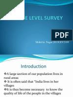 Village Level Survey Rdl