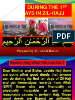 Ibadat during the 1st 10 Days in Zil-Hajj.pptx