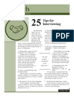 Launch Tips Interviewing