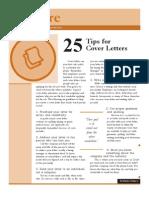 Prepare Tips Cover Letters