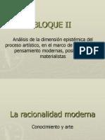 Racionalidad Moderna. Conocimiento y Arte Kant-Hegel