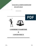 Commerce Maritime Et Contentieux