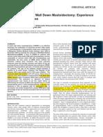 Full Article Cwd Mastoidectomy