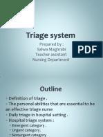 Triage System
