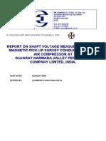 GNFC Air Compressor Voltage Audit Report