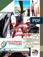 Guía  Básica para Educación en Transito y Seguridad cdatía Básica Para Educación en Transito y Seguridad Cdat