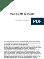 Clase 11 Movimiento de Masas