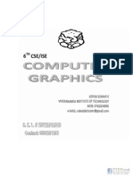 Computer Graphics NOTES by Ashok Kumar(Www.vtuplanet.com)