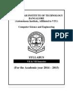 msrit 7-8 sem syllabus book