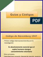 Codigo y Guias de Buenas Practicas Clinicas