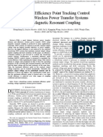 A Maximum Efficiency Point Tracking Control Scheme for Wireless Power Transfer Systems Using Magnetic Resonant Coupling