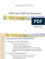 SMT and CMP Architectures.ppt