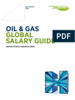 OIL & GAS GLOBAL SALARY GUIDE Review of 2013, outlook for 2014.