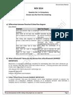 Information Technology Nov 14 Solved Paper