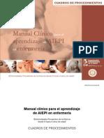 Cuadros de Procedimientos-AIEPI ENFERMERIA