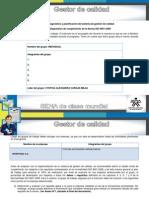 Diagnostico de Cumplimiento de La Norma Iso 90012008 Unidad 1