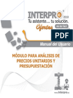 Manual Interpro 2010 Ofertas