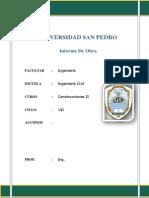 Informe Del Proceso Constructivo de Alcantarillado-2 Fernando