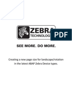 zebra manual y configuracion SAP