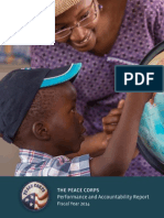 Peace Corps Performance and Accountability Report Fiscal Year 2014