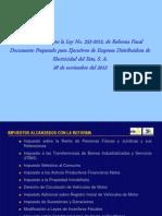 Reforma Tributaria Ley No 253-2012
