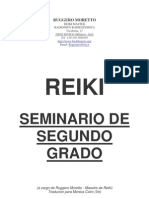 CURSO de REIKI Segundo Grado