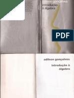 LIBRO-ALGEBRA, Adilson Goncalves, Portugues