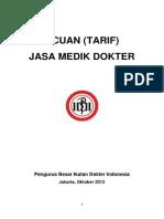 Acuan Jasa Medis Dokter Spesialis