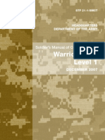 Army - stp21 1 - Soldier's Manual of Common Tasks - Warrior Skills Level 1