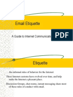 Email Etiquette.pps