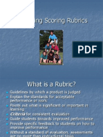 Designing Scoring Rubrics for Your Classroom