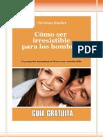 Como Ser Irresistible Para Los Hombres - Christian Sander