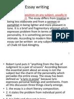 Essay Essay-writng & Examiner Comments