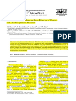 [Edited] Vickers and Knoop Micro-hardness Behavior of Coarse and Ultrafine-grained Titanium