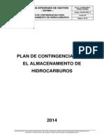 Plan de Contingencias Hidrocarburos 2014