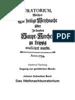 Weihnachtsoratorium J. S. Bach