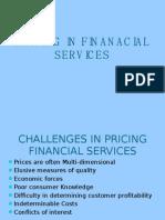 Pricing in Finanacial Services Unit-3